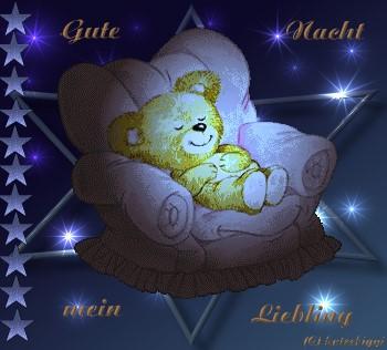 Gute Nacht mein Liebling